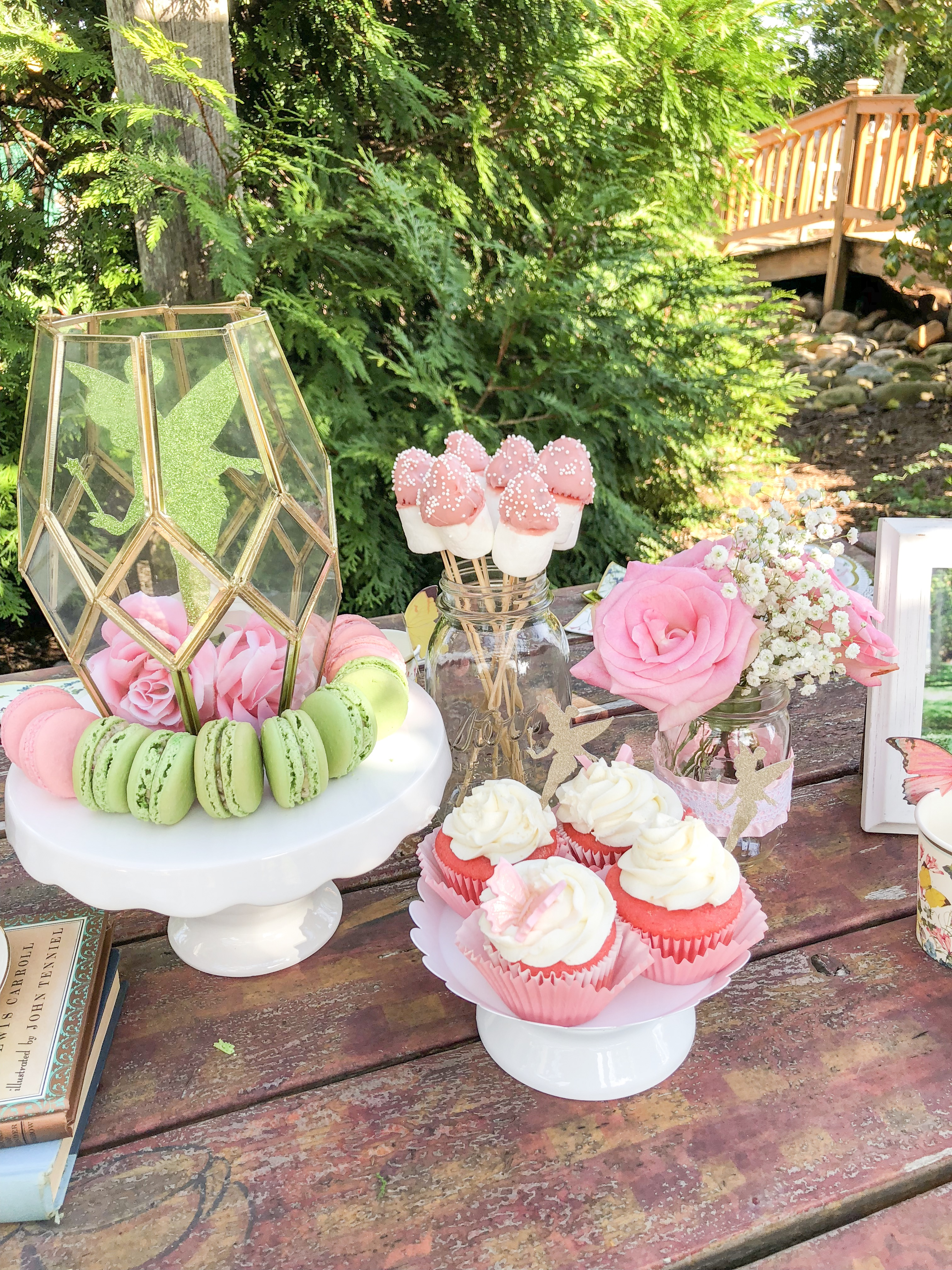 Raleys fairy garden tea party poppy grace fairy garden tea party ideas for girls fairy birthday party decorations tea party food izmirmasajfo