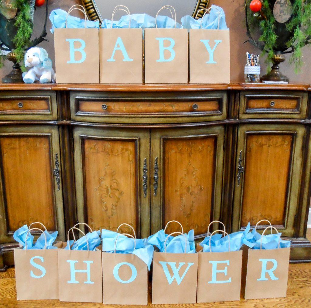 Elephant baby shower. Elephant themed boy baby shower. Baby shower food ideas.