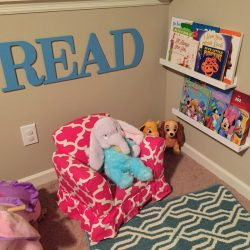 Playroom Makeover and Organization