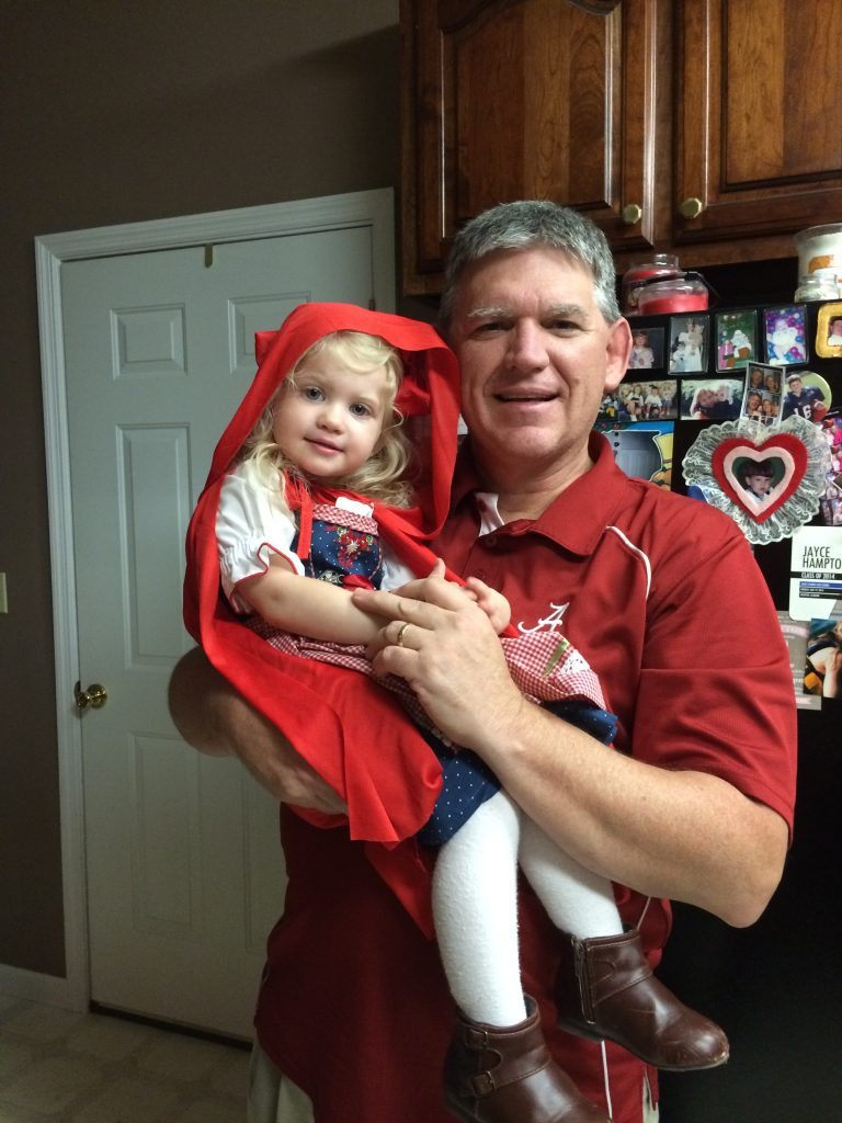 Litttle Red Riding Hood Halloween Costume. Little Red Riding Hood family costume ideas.