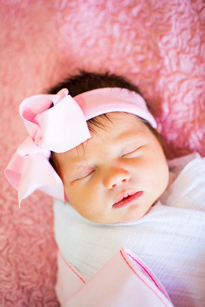 Newborn photo shoot. Newborn and family photo shoot. Baby girl newborn photo shoot. Pink newborn photos