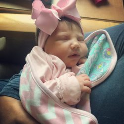 Audrey's Birth Story + Newborn Photos