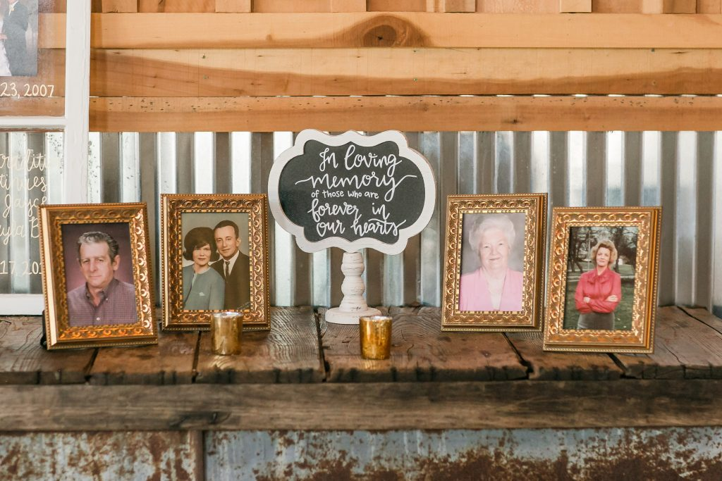 Handlettered chalkboard signs. Wedding chalkboard signs. In loving memory chalkboard sign for wedding ceremony or reception. Wedding reception chalkboard sign. Wedding ceremony chalkboard sign.