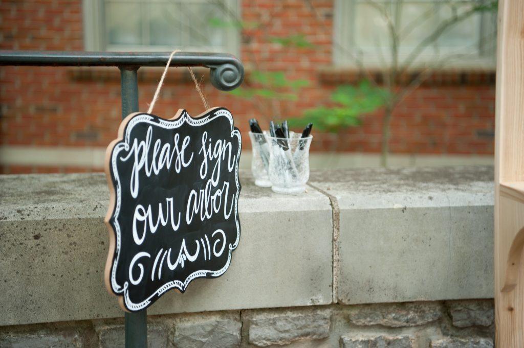 Handlettered chalkboard signs. Wedding chalkboard signs. Wedding reception chalkboard sign. Wedding ceremony chalkboard sign.
