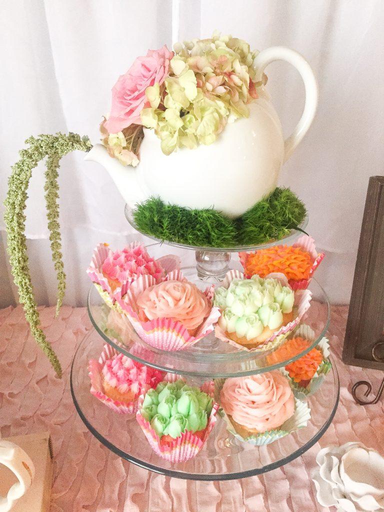 Tea Party Baby Shower. Elegant tea party. Tea party decor ideas. Tea party food ideas. Baby girl tea party baby shower