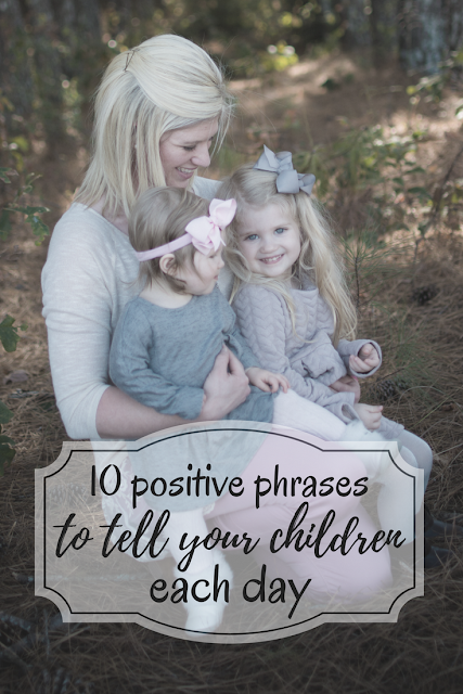 10 affirmations to tell your children each day. Positive words I tell my daughters every day to increase self esteem and teach kindness. Affirmations for young girls and boys