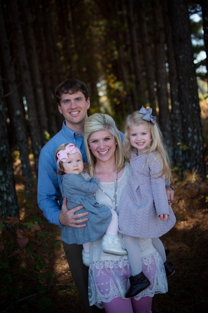 Fall family photo shoot. Woodsy fall family photo shoot. Fall baby 9 month photo shoot. Vintage suitcase baby photos