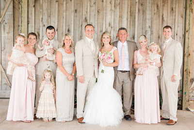 Rustic barn wedding meets vintage fairy tale. Meadow Creek Farm North Alabama Wedding Venue. Vintage Beauty and the Beast inspired wedding reception decoration ideas. Vera Wang bridesmaid dress. Lace, mermaid style wedding gown