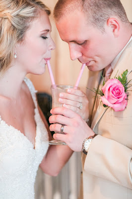 Rustic barn wedding meets vintage fairy tale. Meadow Creek Farm North Alabama Wedding Venue. Vintage Beauty and the Beast inspired wedding reception decoration ideas. Milkshakes for wedding toast