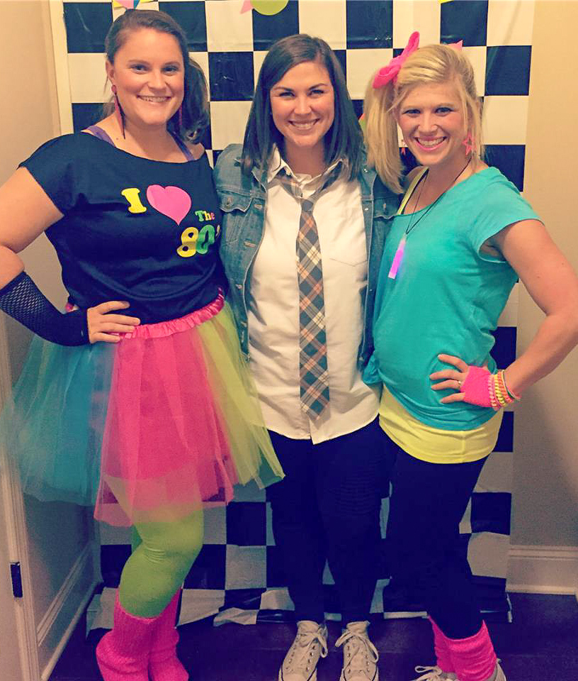 80's theme 30th birthday party. 80's birthday costume ideas