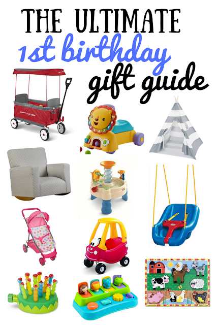 The ultimate first birthday gift guide. The best birthday gifts are the ones that they