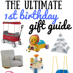 The Ultimate First Birthday Gift Guide