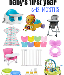 12 Baby Essentials – 6-12 Months