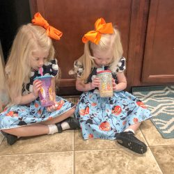 Day in the Life – October 2018 (Ages 5 & 2.5)