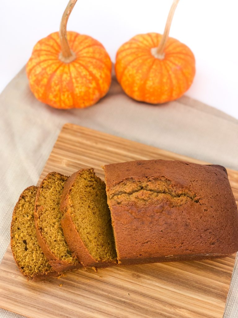 The BEST Pumpkin Spice Bread recipe. Easy to make, moist pumpkin bread recipe
