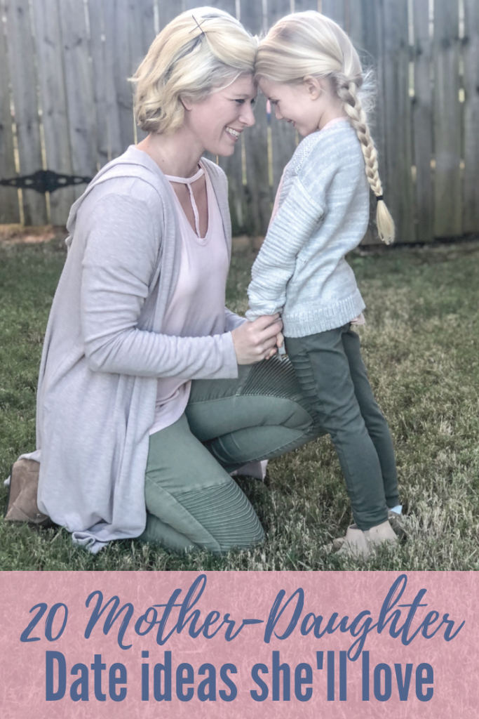 Mother daughter date ideas for kids. Mother daughter date ideas for moms and little girls. Fun quality time with your little girl