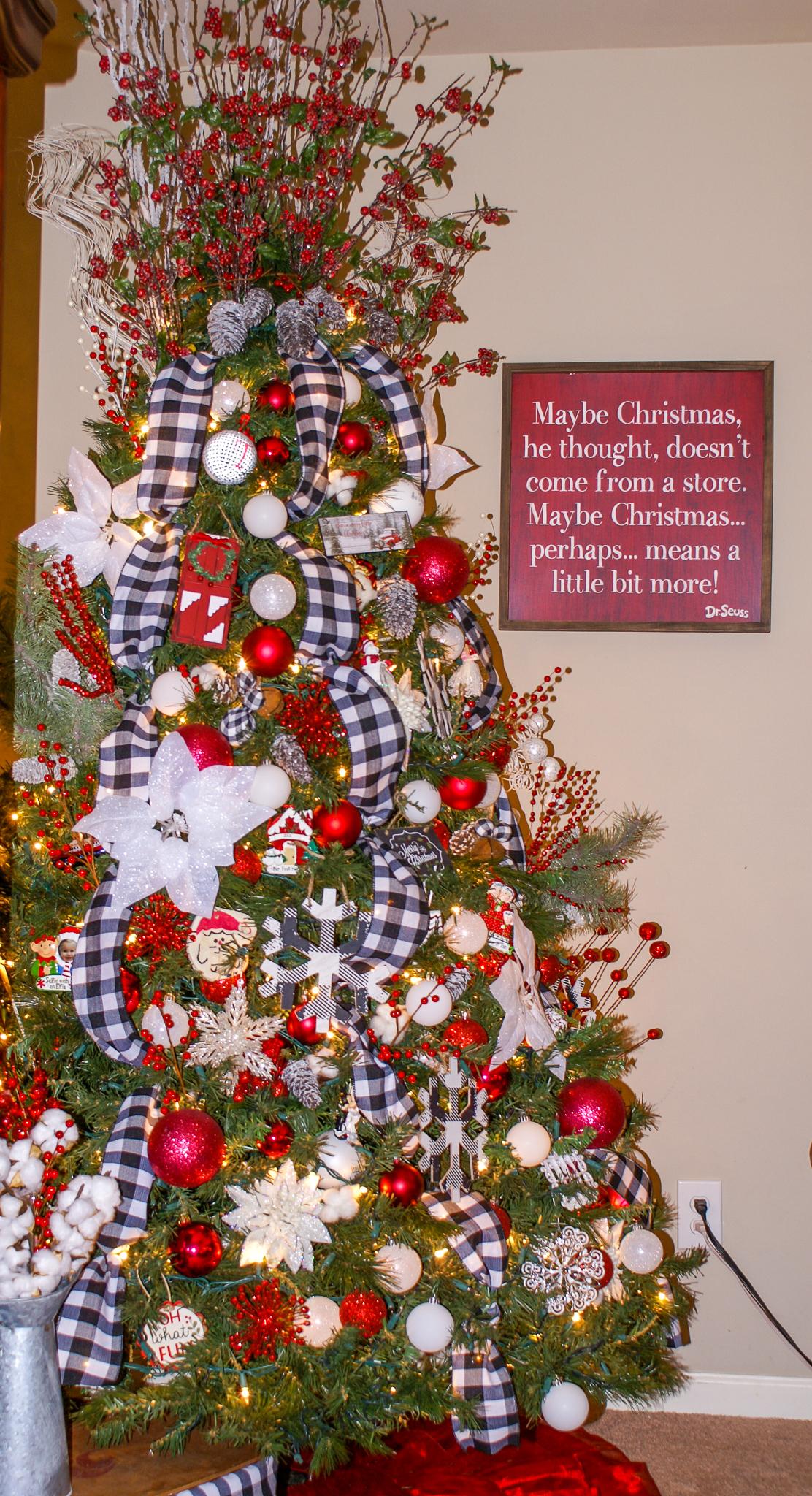 Christmas Home Tour Rustic Christmas Decor Poppy Grace