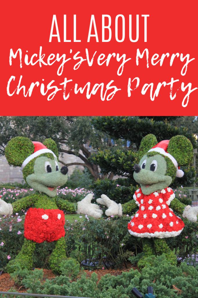 Mickey's Very Merry Christmas Party at Disney's Magic Kingdom. Walt Disney World travel tips, rides, attractions. Mickey's Christmas Party must-dos