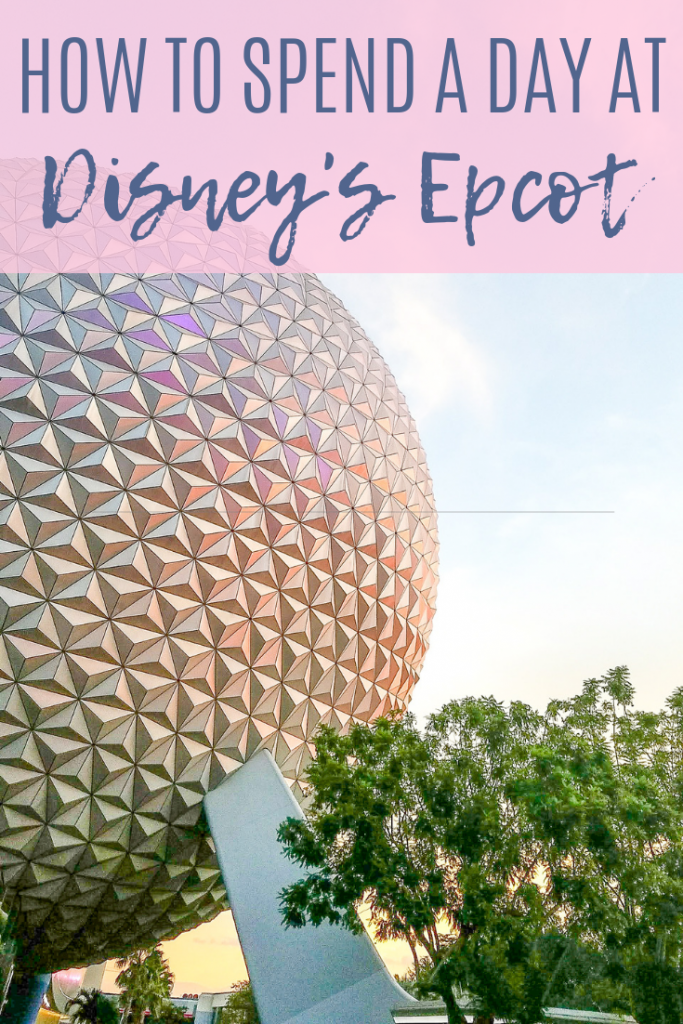 Disney's Epcot. How to spend a day at Disney's Epcot. Travel tips for Disney's Epcot- rides, food, attractions, entertainment. Traveling to Walt Disney World