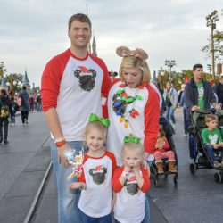 Disney Family Vacation Day 4 – Ohana + Mickey's Christmas Party