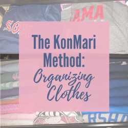 KonMari Method Part 1: Clothing