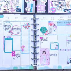 March 2019 Happy Planner Spreads