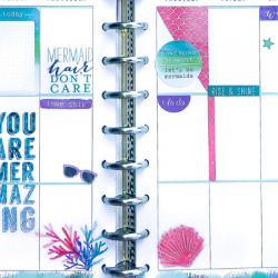 Happy Planner Spreads – July + August 2019