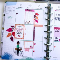Happy Planner Spreads – September 2019