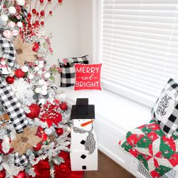 Farmhouse Christmas Home Tour 2019 + Our Girly Christmas Playroom