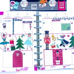 Happy Planner Spreads – December 2019
