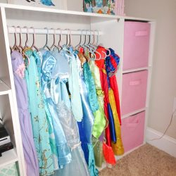 How to Create a Simple Dress Up Storage Solution