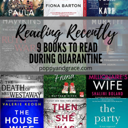 Reading Recently – Spring 2020
