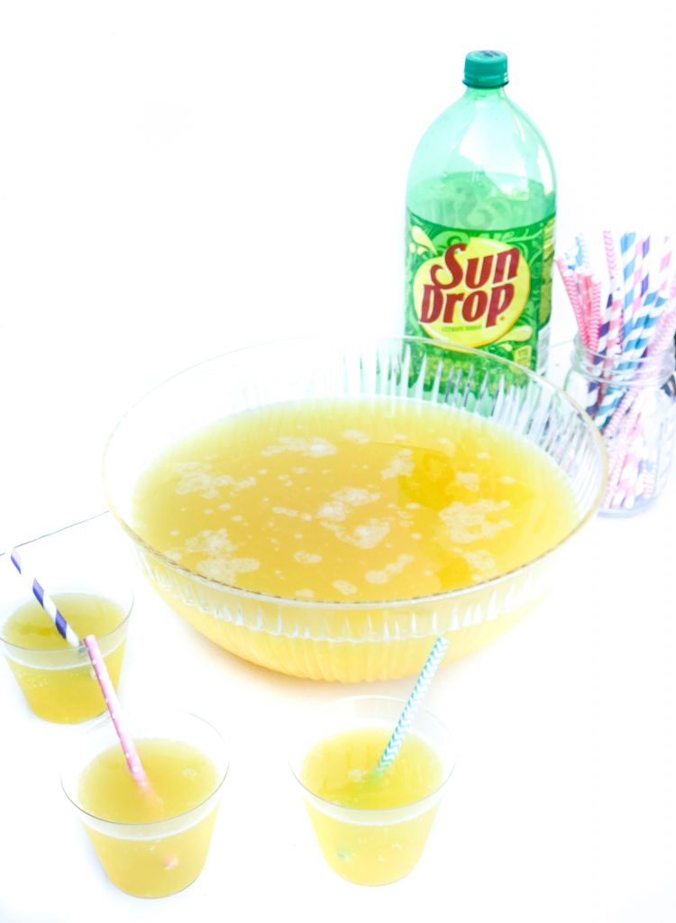 The best party punch recipe. Party punch perfect for any party. Sundrop punch recipe. Sundrop party punch recipe