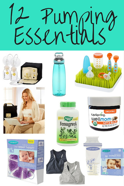 12 exclusive pumping or breastfeeding essentials. A list of must-have products moms need to feed their baby, whether exclusively pumping or breastfeeding/nursing